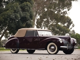 Lincoln Zephyr Continental Cabriolet 1939–40 pictures