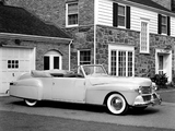 Lincoln Continental 2-door Cabriolet (56) 1942 images
