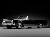 Lincoln Continental Convertible 1962 photos