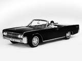 Lincoln Continental Convertible 1963 photos
