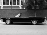 Lincoln Continental Convertible 1963 pictures
