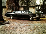 Lincoln Continental Executive Limousine by Lehmann-Peterson 1967 photos