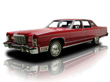 Lincoln Continental Town Car 1976 images