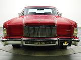 Lincoln Continental Town Car 1976 photos
