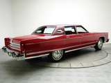 Lincoln Continental Town Car 1976 wallpapers