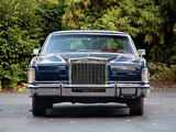 Lincoln Continental Town Car 1977 pictures