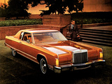 Lincoln Continental Town Coupe 1977 pictures