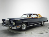 Lincoln Continental Coupe 1978 pictures