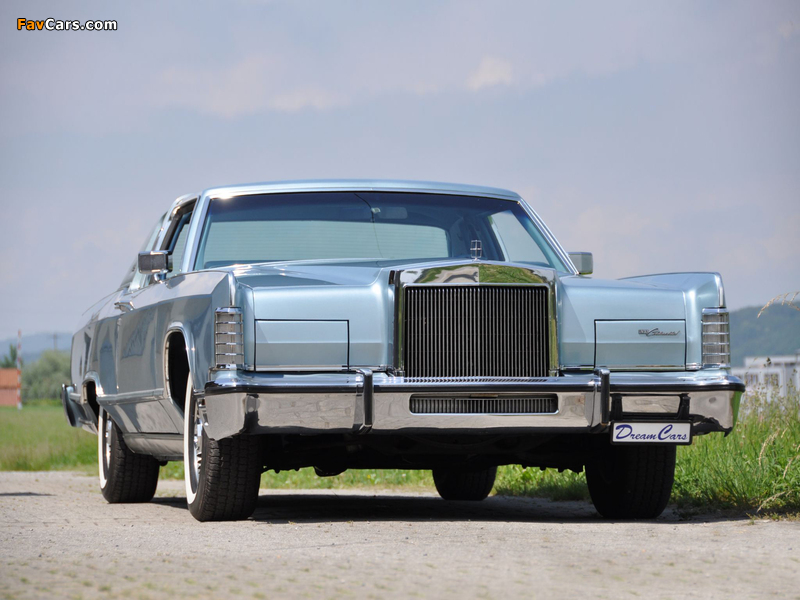 Lincoln Continental Town Coupe 1979 Wallpapers 800x600