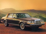 Lincoln Continental 1984–87 photos