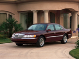Lincoln Continental 1998–2002 images