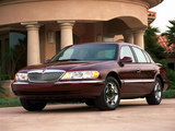 Lincoln Continental 1998–2002 wallpapers