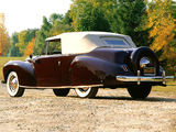 Pictures of Lincoln Zephyr Continental Cabriolet 1939–40