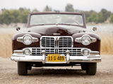 Pictures of Lincoln Continental Cabriolet 1947–48