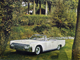 Pictures of Lincoln Continental Convertible 1961
