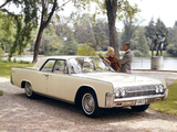 Pictures of Lincoln Continental Sedan (53A) 1963