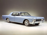 Pictures of Lincoln Continental Sedan 1966