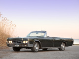 Pictures of Lincoln Continental Convertible 1967