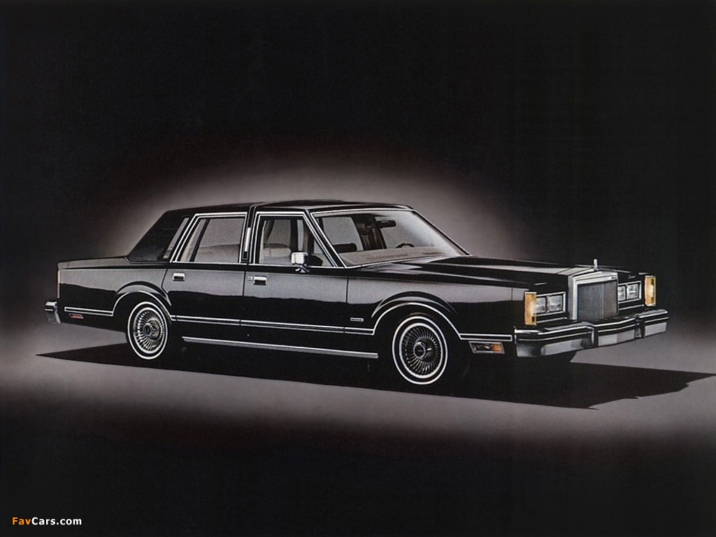 Pictures Of Lincoln Continental Town Car 1980 1024x768