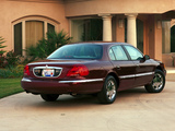 Pictures of Lincoln Continental 1998–2002