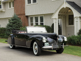 Lincoln Zephyr Continental Cabriolet 1939–40 wallpapers