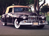 Lincoln Continental Cabriolet 1947–48 wallpapers
