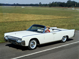 Lincoln Continental Convertible 1961 wallpapers