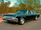 Wallpapers of Lincoln Continental Sedan 1962