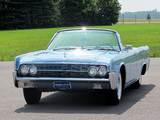 Lincoln Continental Convertible 1962 wallpapers