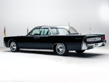 Lincoln Continental Bubbletop Kennedy Limousine 1962 wallpapers