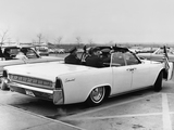 Lincoln Continental Convertible 1963 wallpapers