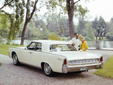 Lincoln Continental Sedan (53A) 1963 wallpapers