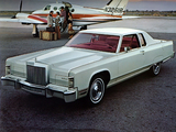 Lincoln Continental Town Coupe 1977 wallpapers