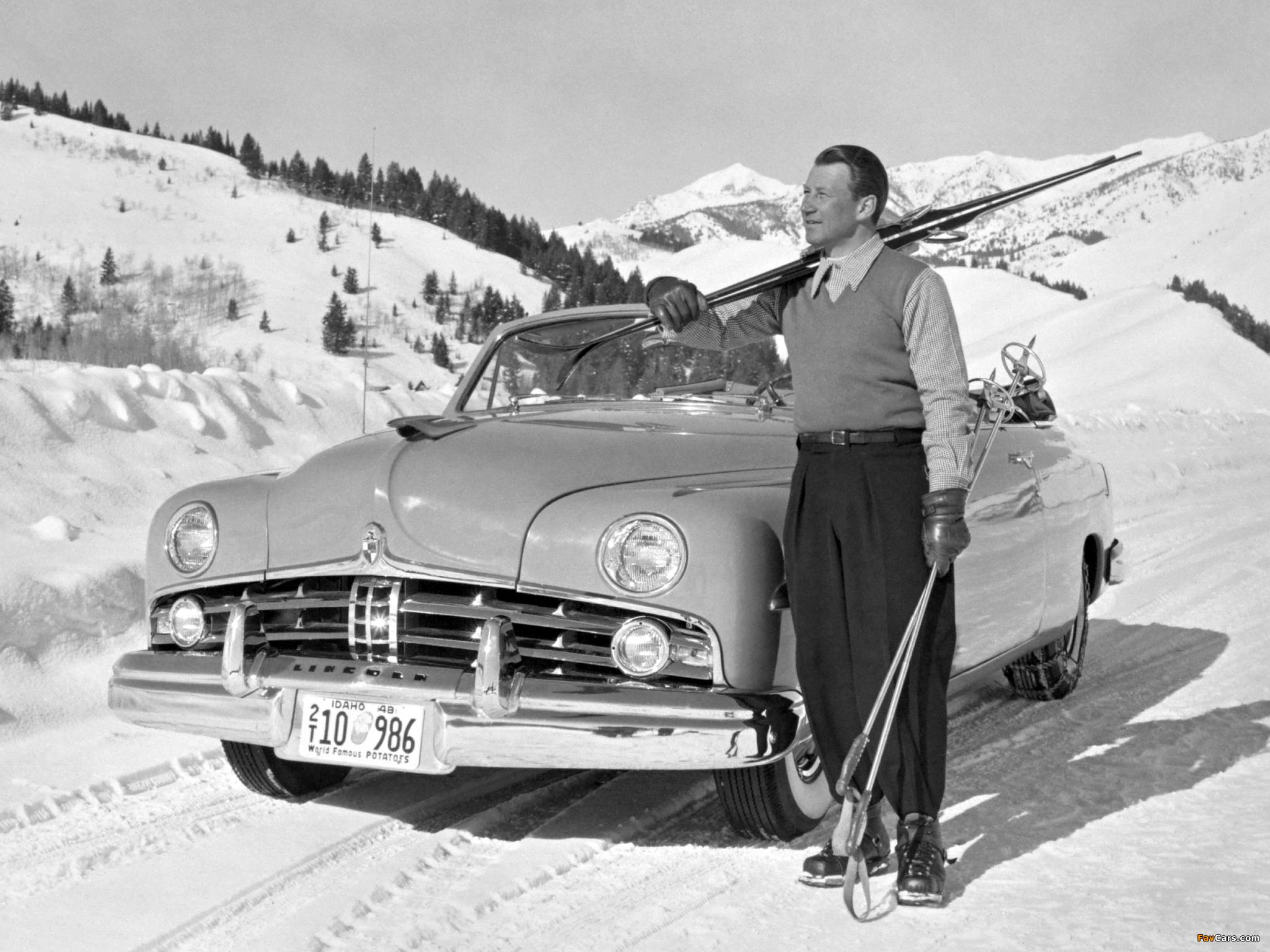 Lincoln Cosmopolitan Convertible 1949 photos (2048 x 1536)