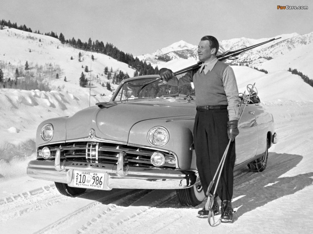 Lincoln Cosmopolitan Convertible 1949 photos (1024 x 768)