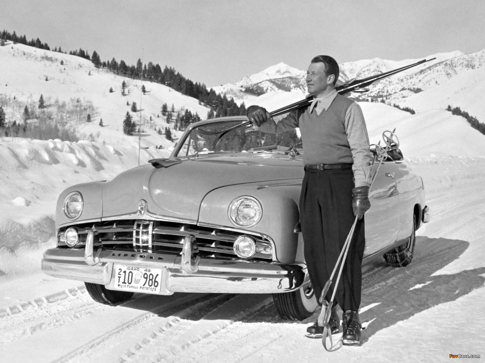Lincoln Cosmopolitan Convertible 1949 photos (1600 x 1200)