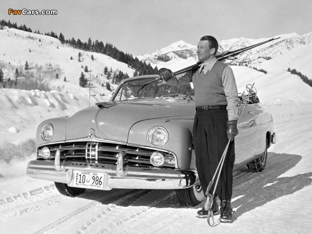 Lincoln Cosmopolitan Convertible 1949 photos (640 x 480)