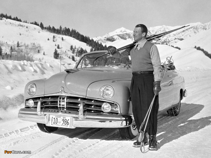 Lincoln Cosmopolitan Convertible 1949 photos (800 x 600)