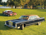 Lincoln Continental Town Car 1977 & Mark V 1978 pictures