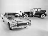 Lincoln Continental 4-Door Sedan 1968 & Lincoln Town Car 1925 wallpapers