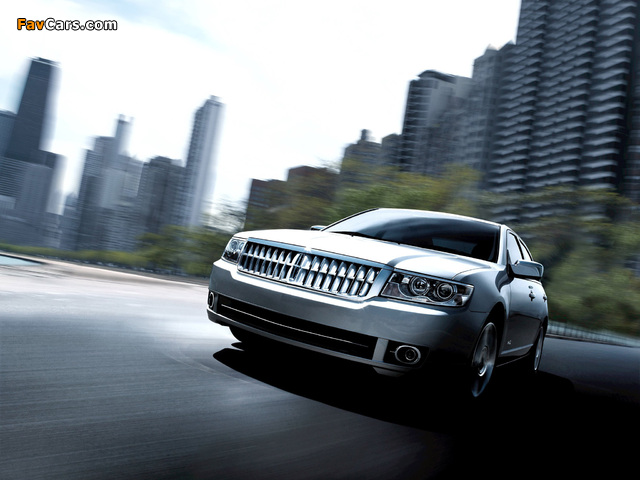Images of Lincoln MKZ 2006–09 (640 x 480)