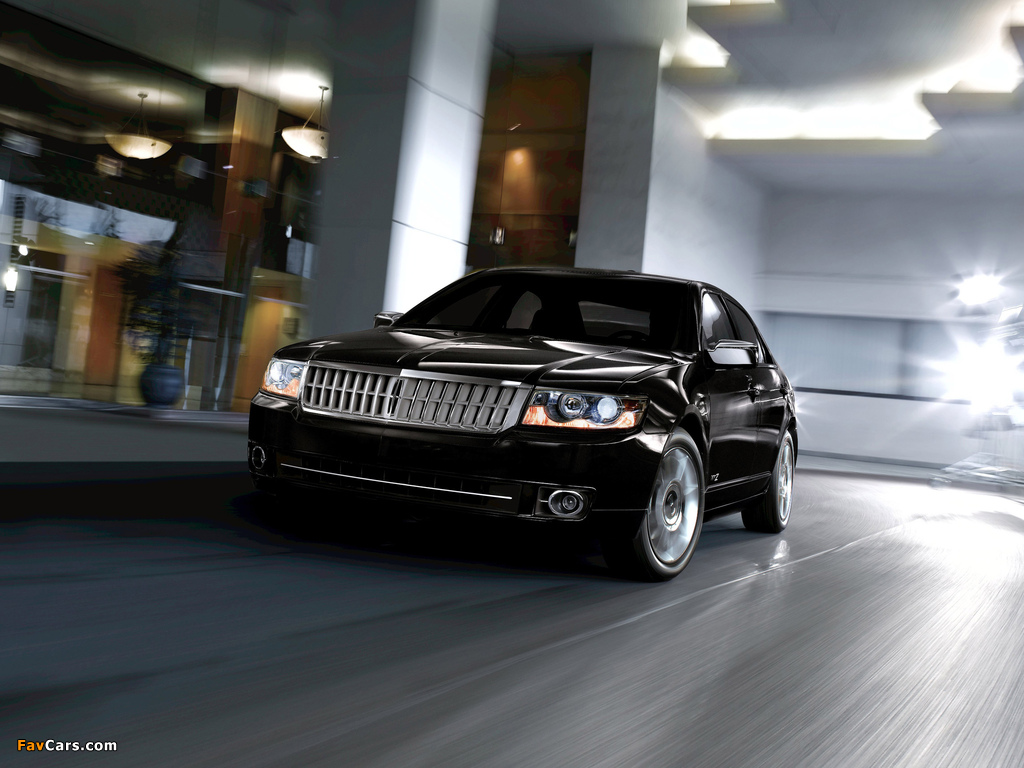 Lincoln MKZ 2006–09 wallpapers (1024 x 768)