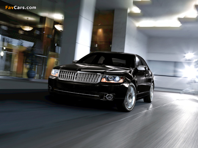 Lincoln MKZ 2006–09 wallpapers (640 x 480)