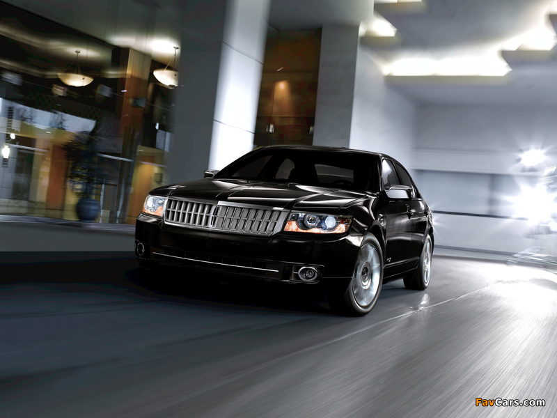 Lincoln MKZ 2006–09 wallpapers (800 x 600)