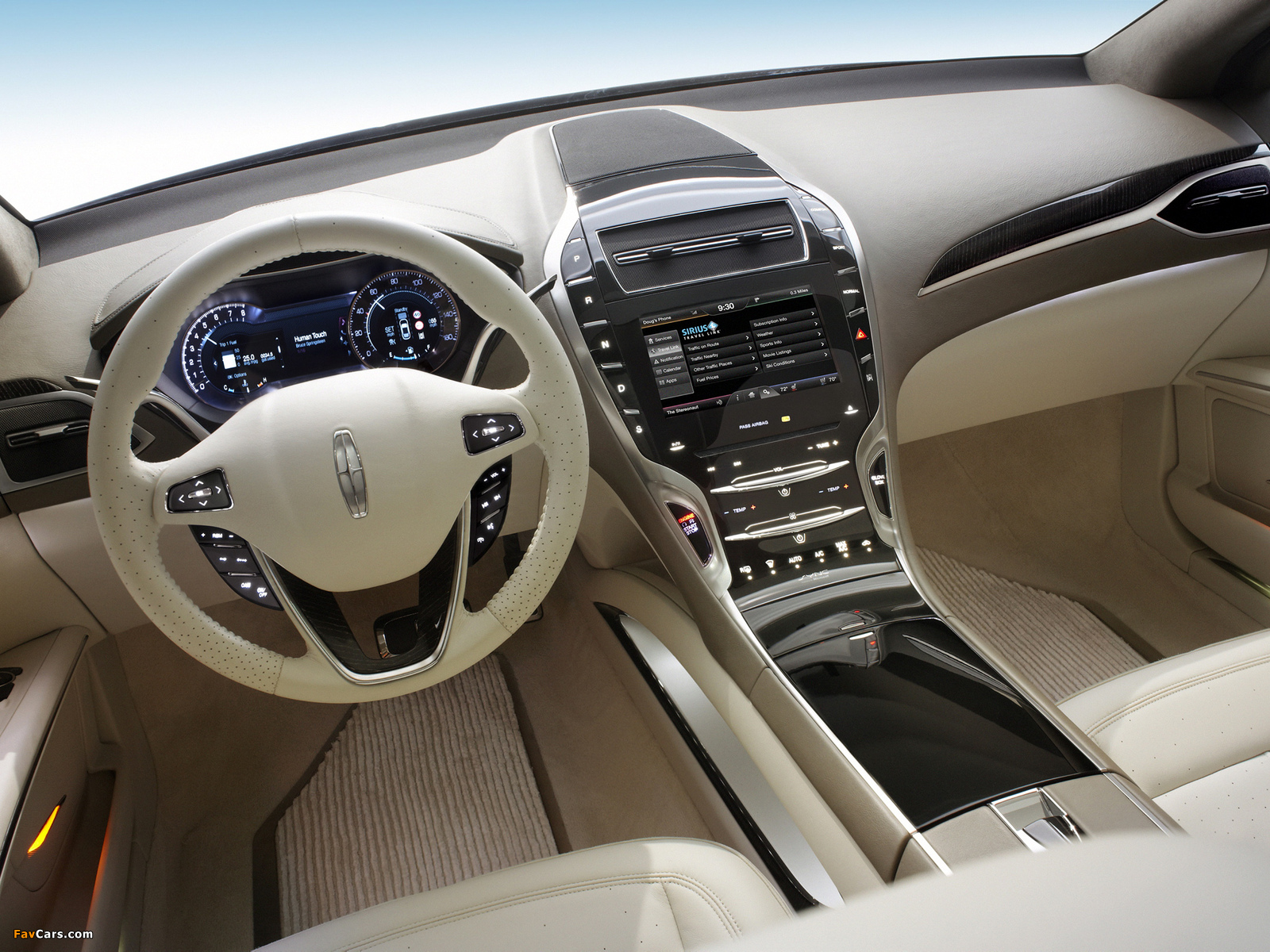 Lincoln MKZ Concept 2012 pictures (1600 x 1200)