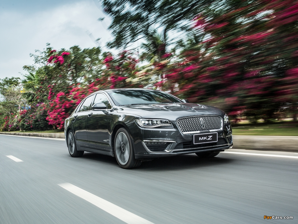 Lincoln MKZ H China 2017 images (1024 x 768)