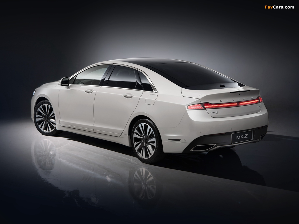 Lincoln MKZ H China 2017 pictures (1024 x 768)