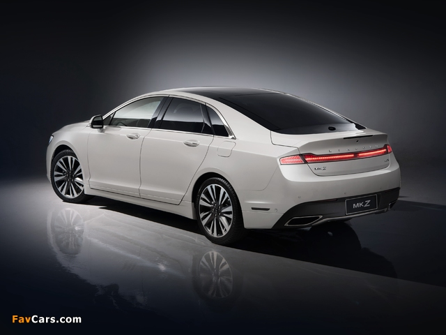 Lincoln MKZ H China 2017 pictures (640 x 480)