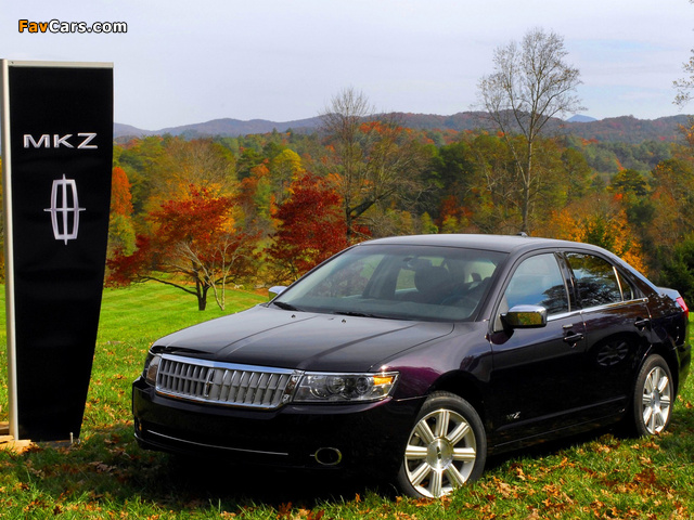 Pictures of Lincoln MKZ 2006–09 (640 x 480)
