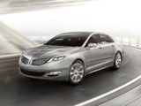 Pictures of Lincoln MKZ Hybrid 2012